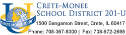 Crete Monee School District 201-U Logo